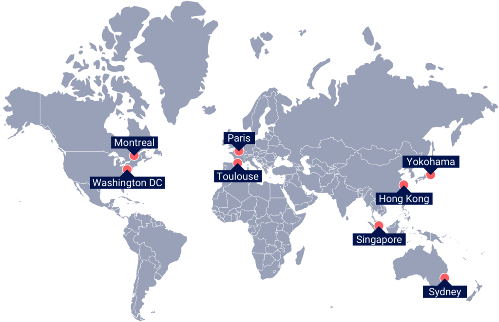 Euroconsult Map for Offices